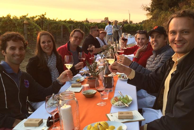 End of Harvest Celebration at Poseidon Vineyard