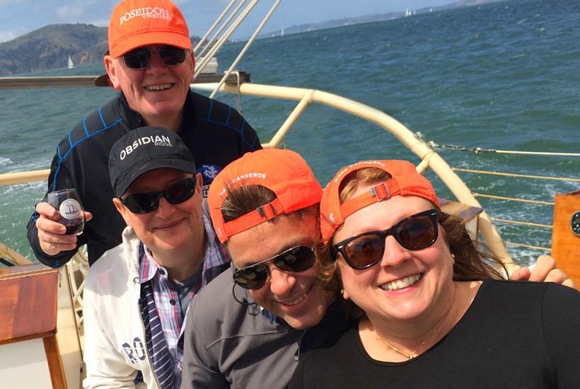 Annual Wine Club Sail on the Bay
