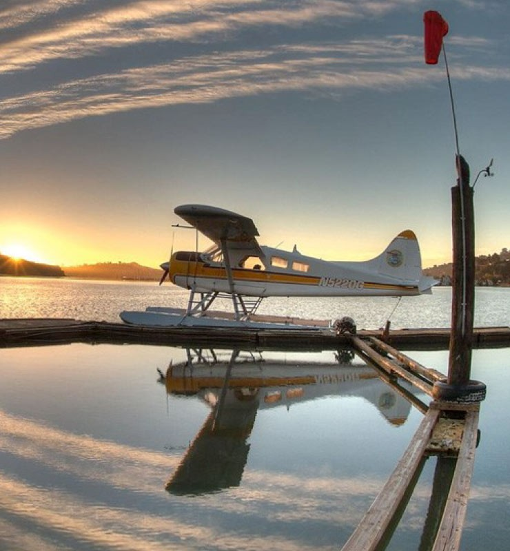 Seaplane Wine Flight