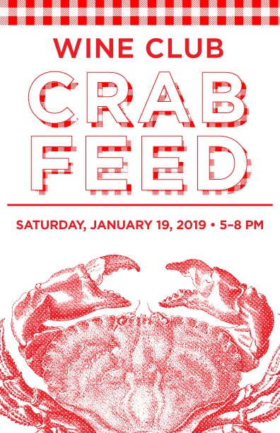 Wine Club Crab Feed Image