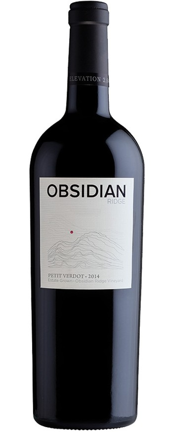 2014 Obsidian Ridge Estate Petit Verdot