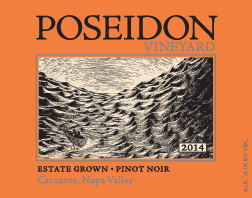 Glass Pour - Poseidon Vineyard Pinot Noir 2014