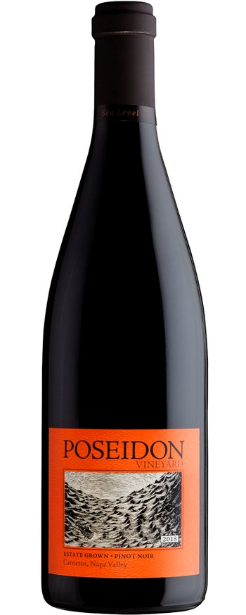 2018 Poseidon Vineyard Estate Pinot Noir