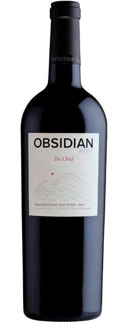 "2017 Obsidian Ridge ""The Chief"" Proprietary Red Blend"